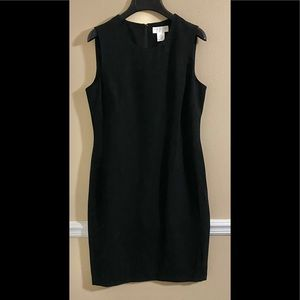 Sleeveless Black Dress 6P